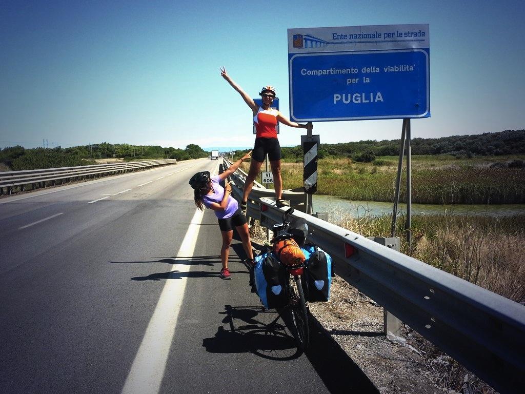 arrivo in Puglia