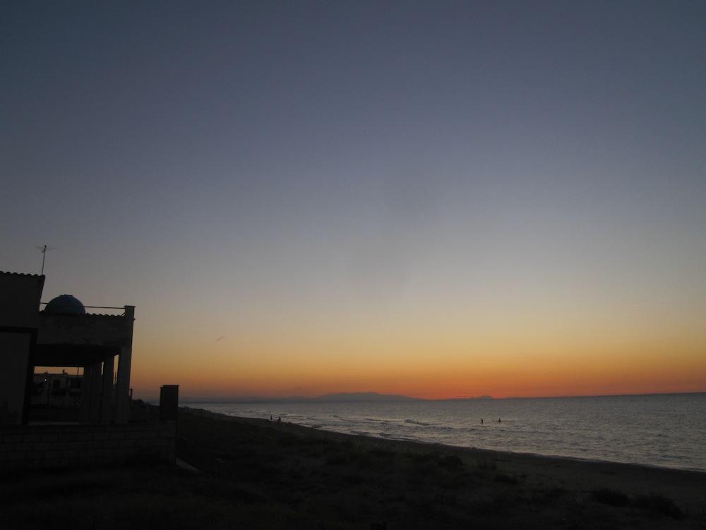 tramonto pugliese