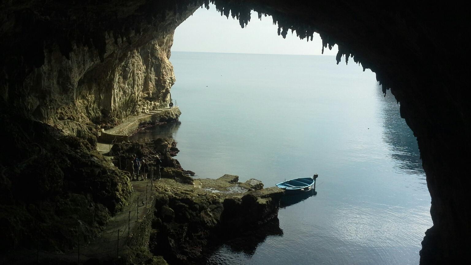 grotta zinzulusa, castro, salento, foto di cristina favento©