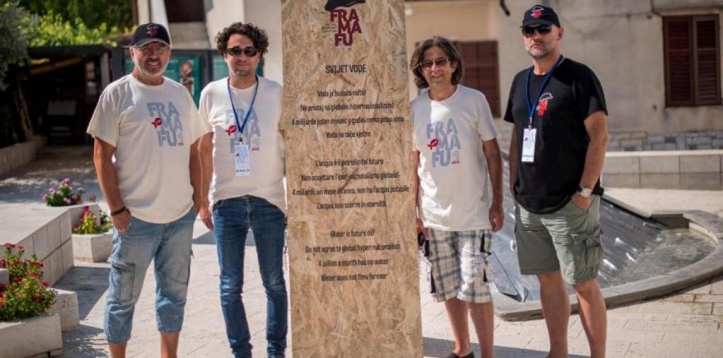 Organizzatori del Festival croato fra-ma-fu