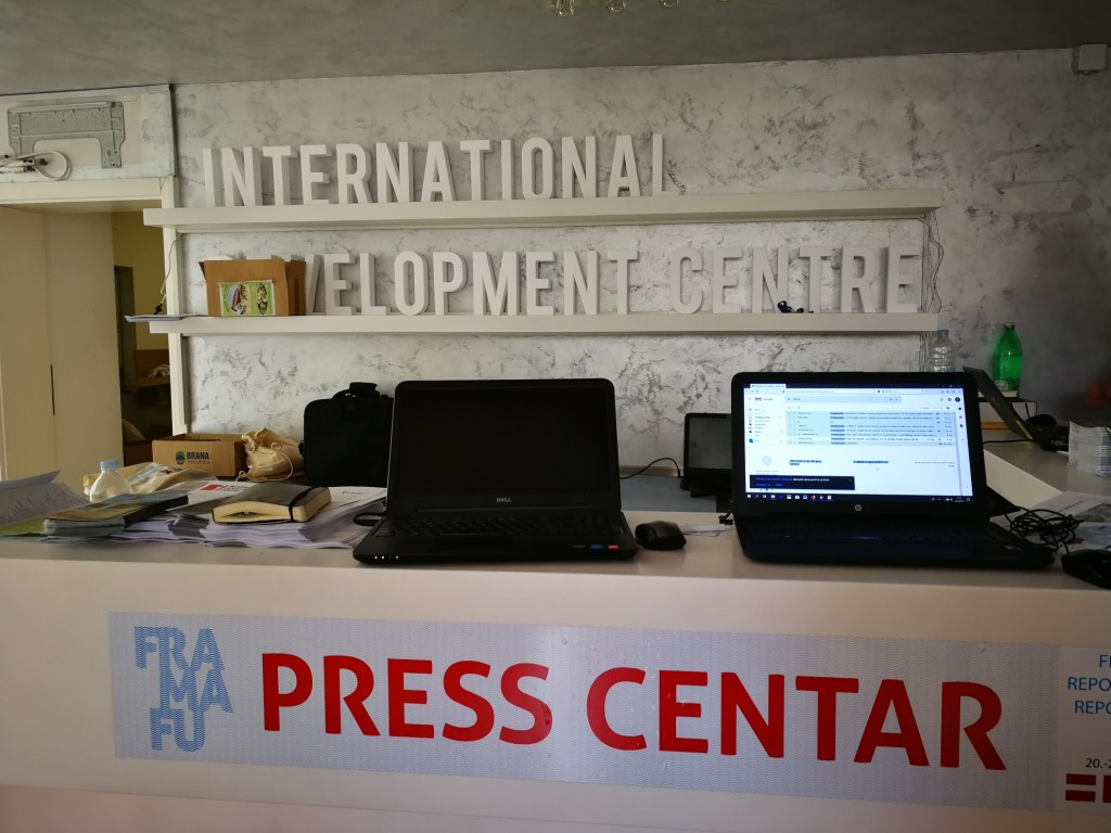 quartier generale a Fasana del fra ma fru team festival