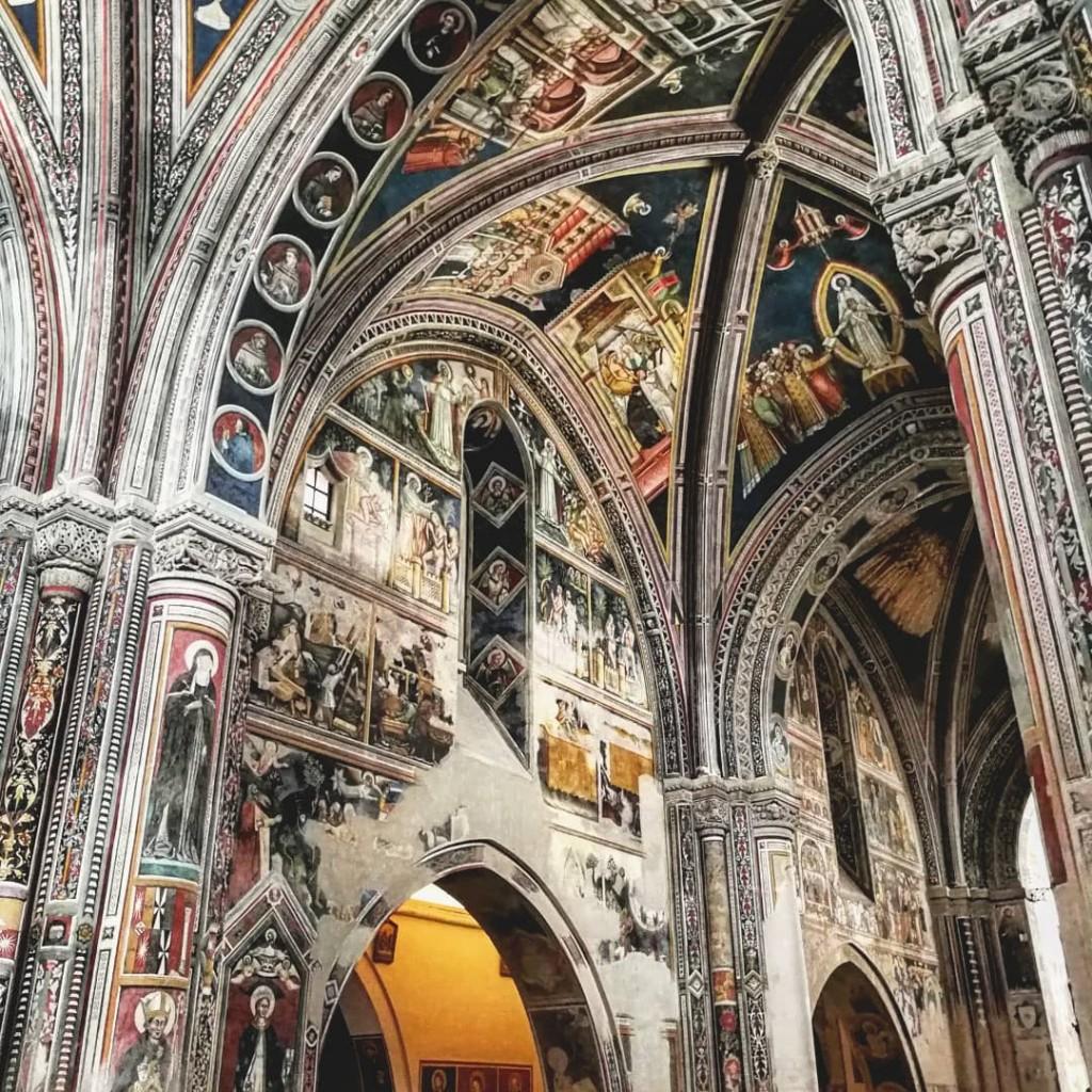 santa caterina affreschi galatina foto di cristina favento©