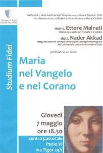 Maria Vangelo Corano