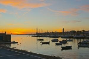 Molo Sant'Antonio all'alba