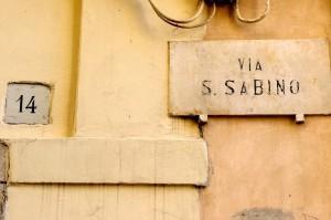 Via San Sabino già Sinagoga