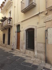 Via San Sabino ex sinagoga