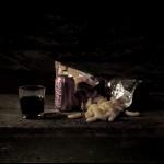 Last Meal on Death Row - Velma Barfield, 2012, Digital transfer print on goatskin parchment
