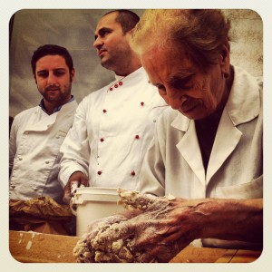 Maria, 85 anni, fornaia di San Marco in Lamis