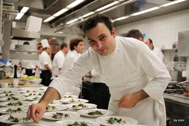Remo Capitaneo, sous chef Devero ristorante (Cavenago Brianza)