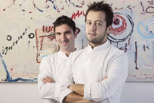 Da sinistra gli chef Fabio Pisani e Alessandro Negrini