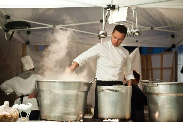 Lo chef Sebastiano Lombardi (foto di Martina Leo, Xfoto)