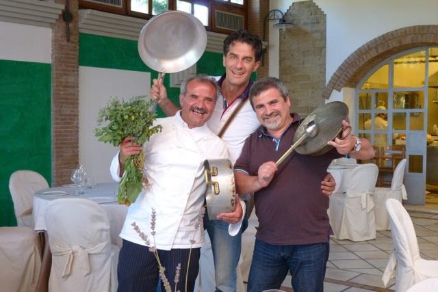 Lo chef Peppe Zullo