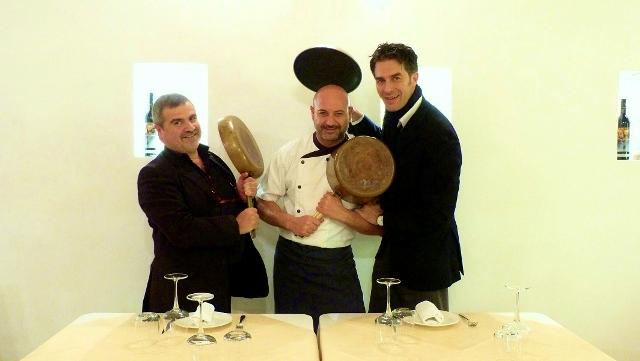 Lo chef IppazioTurco del ristorante Lemì di Tricase