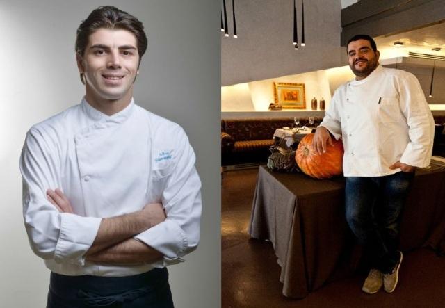 Gli chef Vito Giannuzzi e Roy Caceres