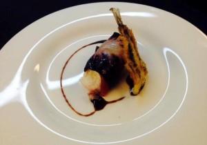 Involtino di stracciatella coppa e alici in tempura