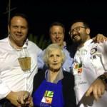 Con Roberto Cerea del tristellato Da Vittorio a Brusaporto