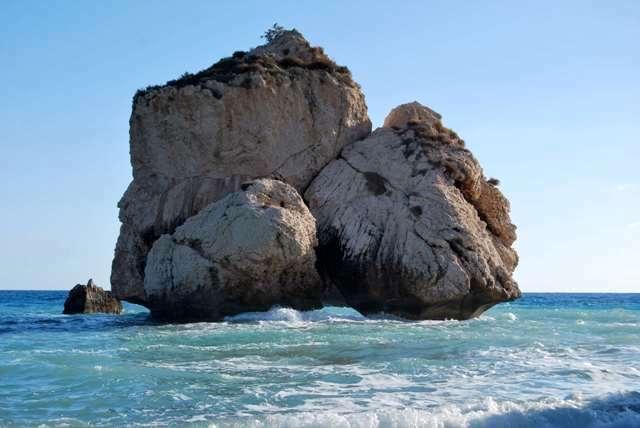 Lo scoglio di Afrodite a Cipro