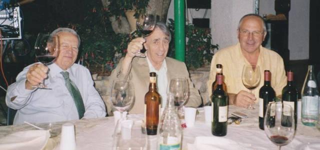 Da sinistra Severino Garofano, Angelo Ricci e Leonardo Zito