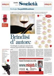 Repubblica Bari, pagina XI, edizione del 3 ottobre 2014