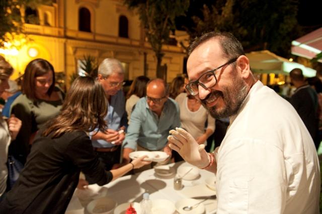 Lo chef Francesco Nacci