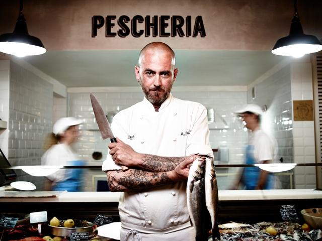 Alberto Putti, chef Pescheria con cottura