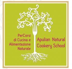 Il logo della Apulian natural cookery school
