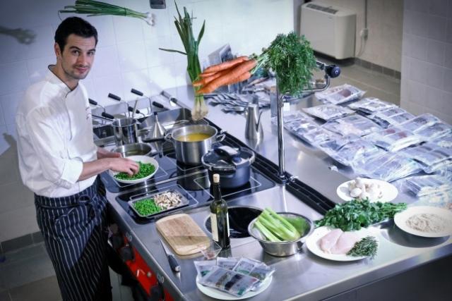 Lo chef Stefano Polato