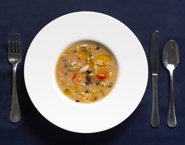 Zuppa di legumi per AstroSam