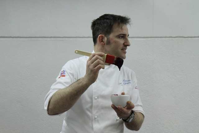 Lo chef Antonio Sgarra