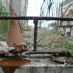 Gelati -  istallazione a Vizzini (Catania)