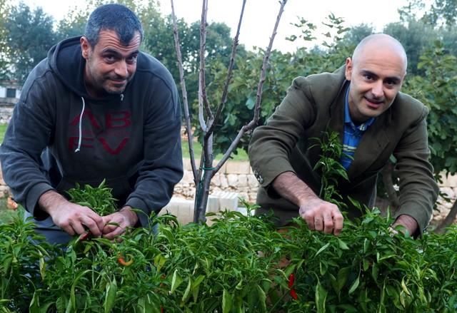 Da sinistra Angelo Giordano e Valerio Tanzarella