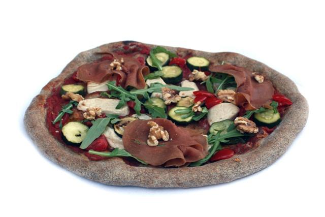 La pizza vegana di Andrea Pietra