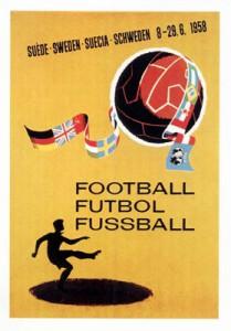Fußball-WM 1958: Das offizielle Poster