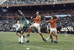 Fillol nella finale mondiale del '78 contro l'Olanda