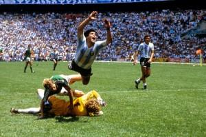 La finale del 1986: Argentina-Germania