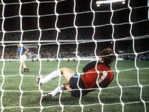 Il rigore parato a Bossis nella semifinale con la Francia del 1982