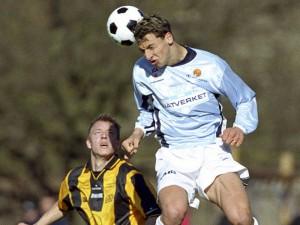 Un giovane Ibrahimovic con la maglia del Malmö (1999-2001)