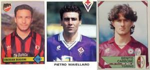 Biagioni, Maiellaro e Carbone: vincitori del Pallone d'oro dal '94 al '96