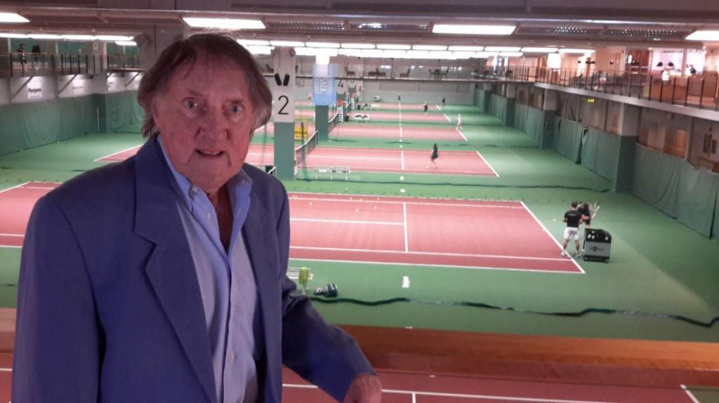 Percy Rosberg, primo maestro di Borg, alla Salk-hallen