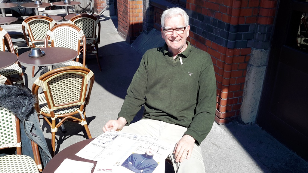 Rune Smith, giornalista svedese, autore della prima intervista a Ibra