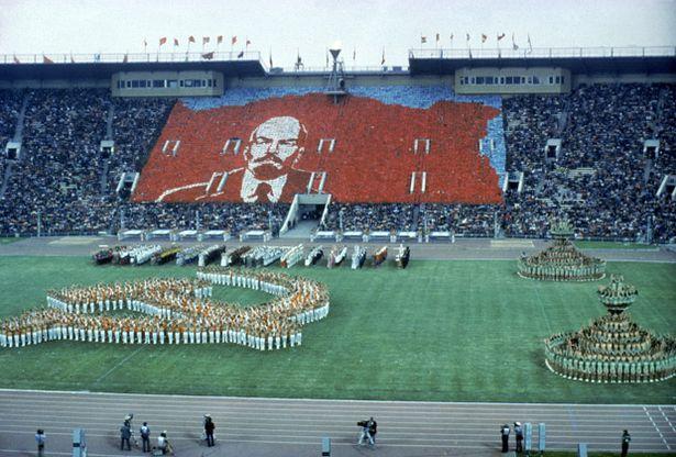 la cerimonia a Mosca 1980