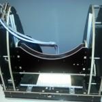 Una delle stampanti 3D presenti in Fiera