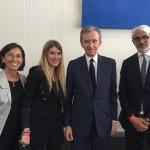 Maria di Napoli Francesca Richiardi Bernard Arnault Lupo Lanzara @ LVMH Prize 2016