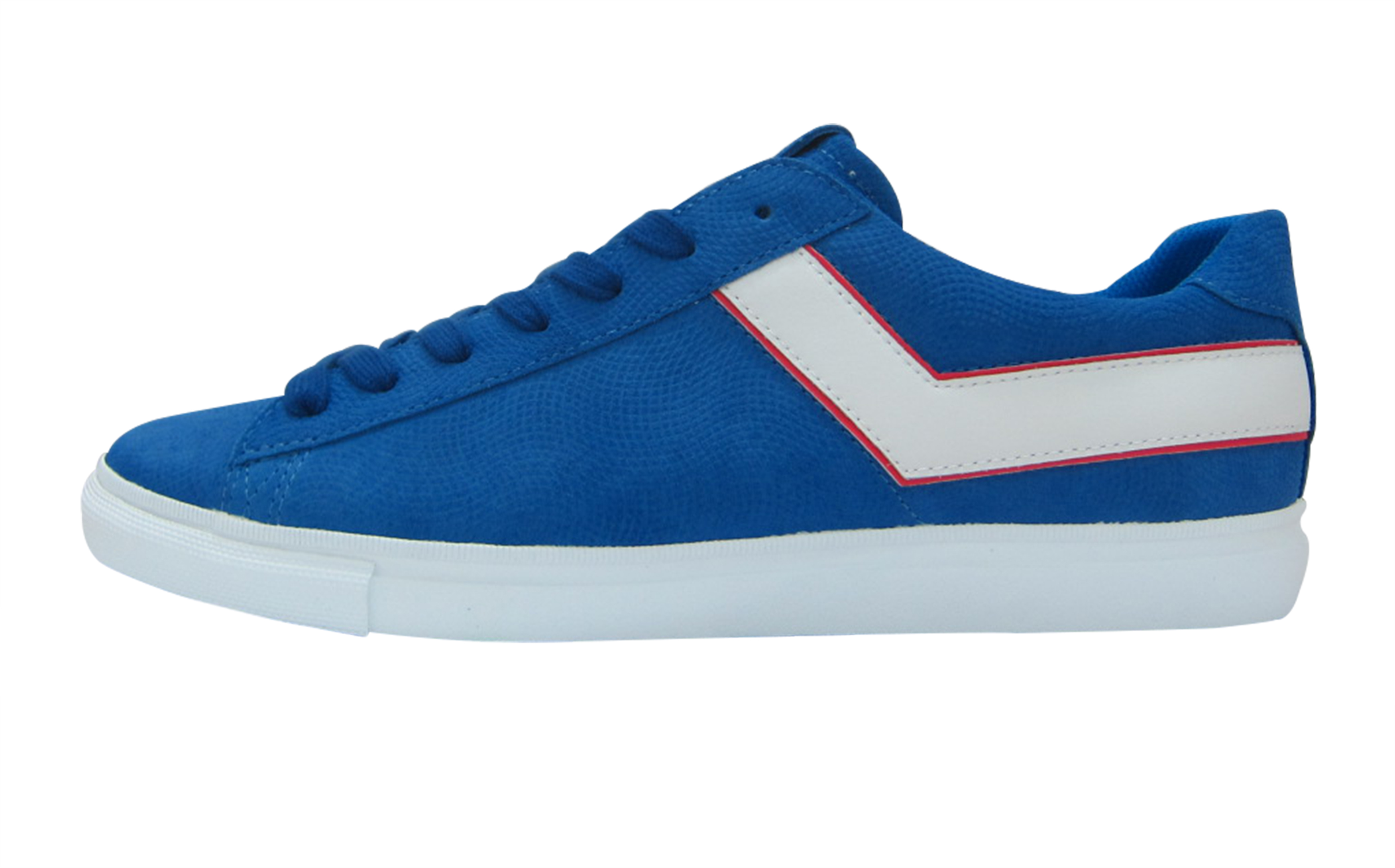 PONY SS17_TOPSTAR OX EMBOSS SUEDE_blue white red