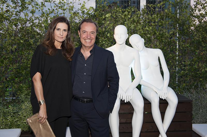 Andrea Bonaveri con Livia Firth copia