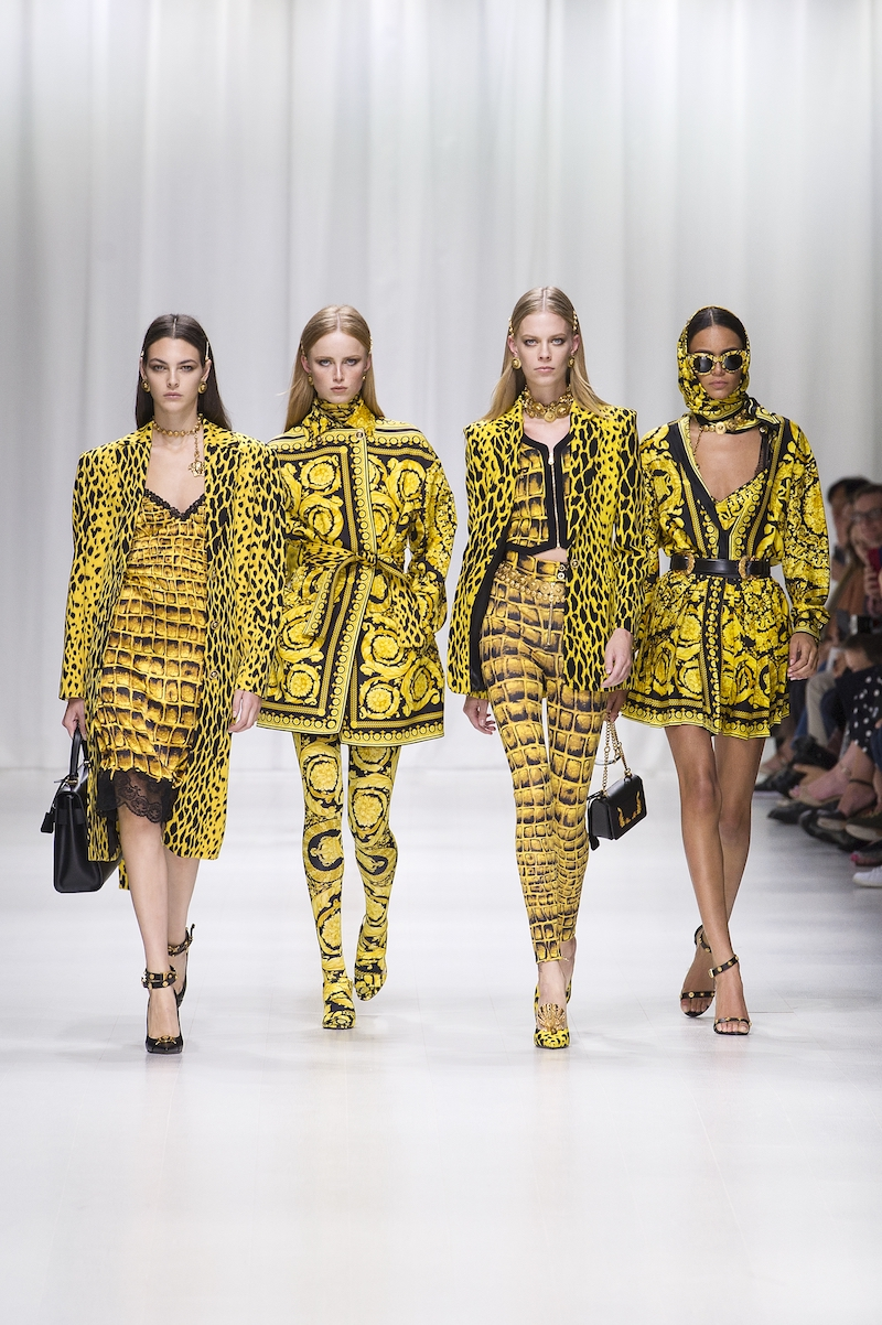 versace tribute collection SS18