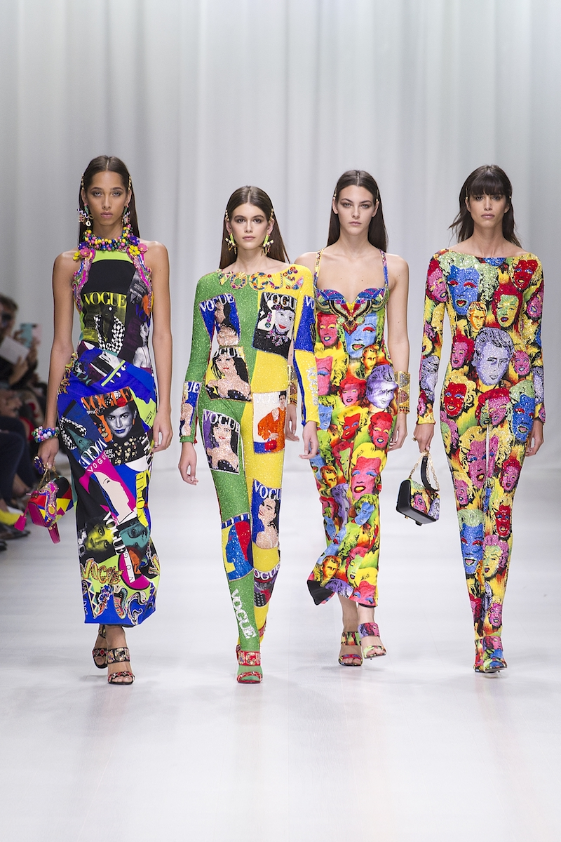versace tribute collection SS 18