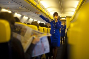 ryanair hostess