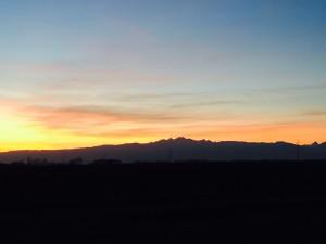 tramonto friulano