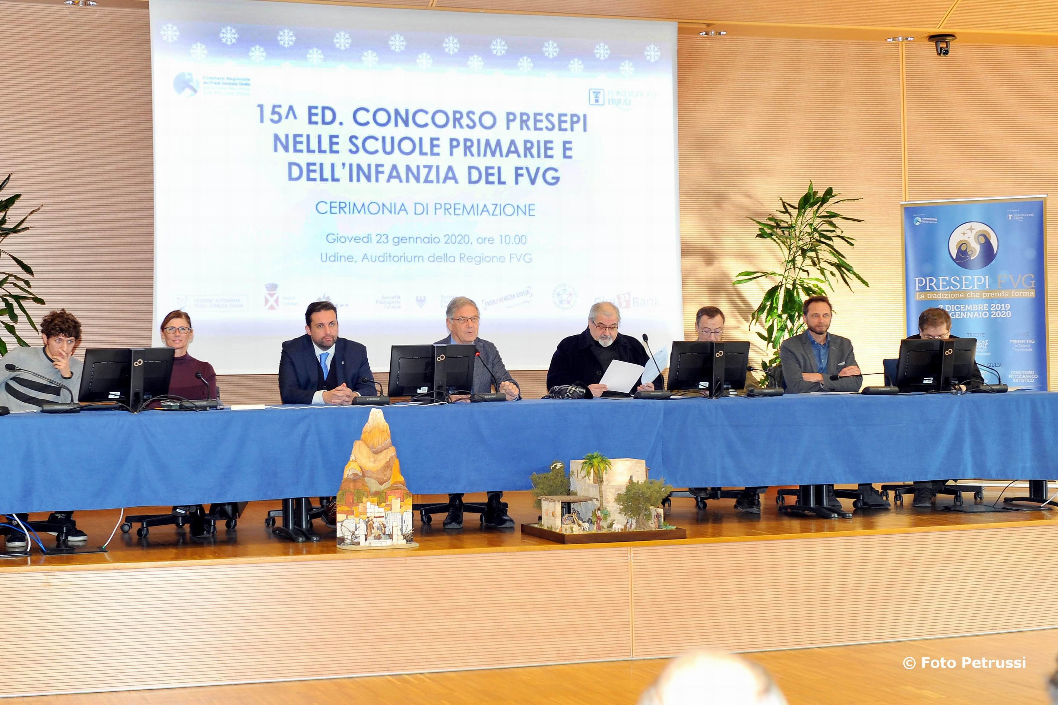 interventi 002 Premiazione concorso Pro Loco presepi nelle scuole. 23-01-2020 © Foto Petrussi.